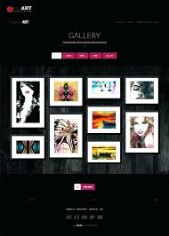 Photo Gallery Website Templates Free Download Ethercard Co