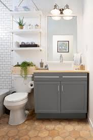 Bathroom shelves decor Minimal Rope And Swing Diy Bathroom Shelf Ideas Homebnc 25 Best Diy Bathroom Shelf Ideas And Designs For 2019