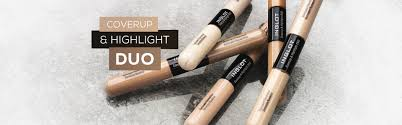 inglot lab face creams coverup highlight duo concealer and illuminator