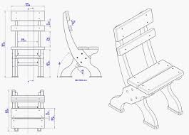 drawing furniture plans. Tuinstoel Om Van Steigerplanken Zelf Te Maken. Furniture PlansMiniature Drawing Plans