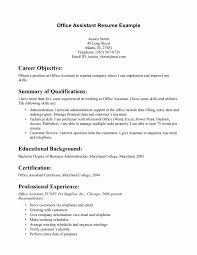 Medical Assistant Resume Objective Beautiful Medical Assistant