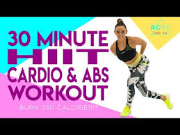 30 minute cardio and abs workout