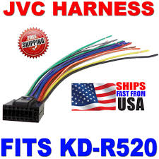 jvc kd r520 wiring diagram jvc wiring diagrams 2010 jvc wire harness 16 pin harness kd r520 kdr520 description jvc kd r wiring diagram