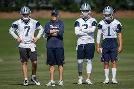 Cowboys 2013 Depth Chart Who Has The Advantage In The Cowboys Backup Quarterback