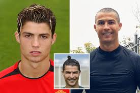 Cristiano ronaldo hairstyles have been continually trending for at least a decade. Cristiano Ronaldo S Haircuts Through The Years From New Shave To Blond Streaks Top Knot And Toilet Brush