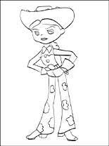 Jessie Toy Story Kleurplaat Gratis Kleurplaten