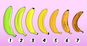 Banana Ripeness Chart Which Banana Would You Choose To Eat Your Answer May Have