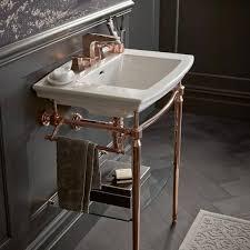 heritage blenheim basin abingdon rose gold washstand