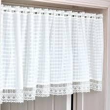 cafe curtains target white cafe curtains cotton lace plaid kitchen curtain free cm x cm decorative cafe curtains target