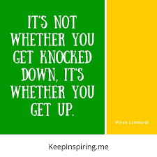 40 Vince Lombardi Quotes To Use In The Game Of Life Unique Lombardi Quotes