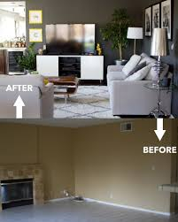 Living Room Renovation Before And After Food Fashion And Fun - Living room renovation