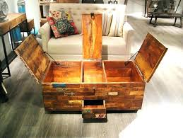 reclaimed wood trunk decorative reclaimed wood chest uk