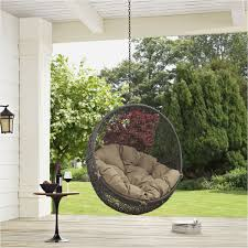 hanging chair with stand new outdoor hanging egg chair cover archives benestuff new design