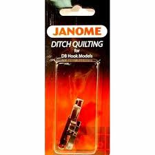 Janome Ditch Quilting Foot #767824109 for 1600p Series High Shank ... & Janome Ditch Quilting Foot #767824109 for 1600p Series High Shank Machines    eBay Adamdwight.com
