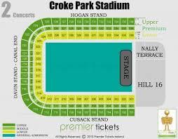 Croke Park Layout Map