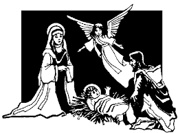 christmas pictures black and white religious. Plain Religious Christian Christmas Clip Art Free Intended Christmas Pictures Black And White Religious R