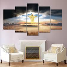 Home Decoratie Modulaire Foto Op Canvas Posters Muur Frame 5 Panel