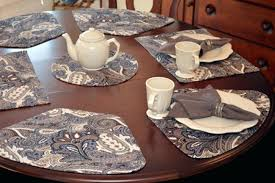 placemats for round tables table wedge sweet pea linens made pattern placemats for round tables wedge