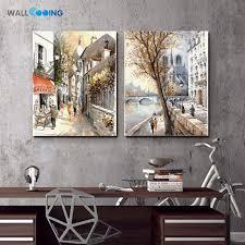 Impression Rue Peinture Pop Art Toile Peinture De Haute Qualité Pas
