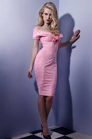 Image result for feminine sexy dress pink