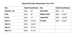 Measurement Charts Made By Jacks Mum