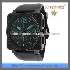 western men watches big square case pvd black covered silicone western men watches big square case pvd black covered silicone rubber watch strap