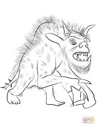 Small Picture Werewolf coloring pages Free Coloring Pages