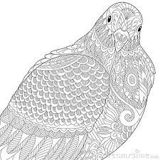 Small Picture Zentangle Dove Pigeon Adult Coloring Pages Pinterest Dove