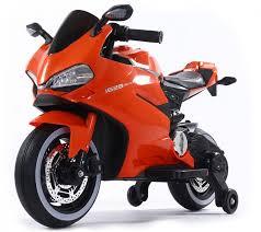 <b>Детский электромотоцикл Ducati</b> Orange 12V - FT-1628-ORANGE ...