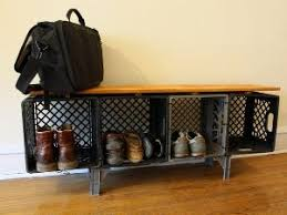 Finished Milk Crate Credenza