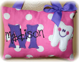 Tooth Fairy Pillows Personalized for Boys and by SandDStitches