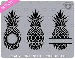 pineapple silhouette png. svg pineapple for cutting machines (cricut, silhouette, scanncut, brother,\u2026 pineapple silhouette png