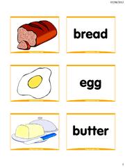 Food Flash Cards Food Flashcards