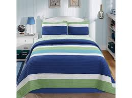 waylon bedding quilt set navy blue
