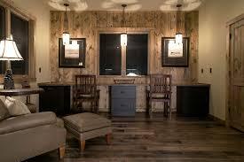 rustic home office desks. home office light rustic with pendant u0026 hardwood floors zillow desks e