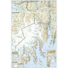 Resurrection Bay Chart Kenai Fjords National Park Trail Map 231