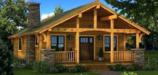 small stone wood home designs