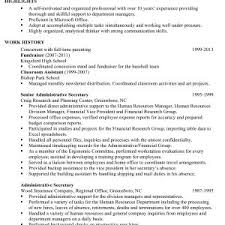 Sample Resume College Administrative Assistant Inspirationa Great ...