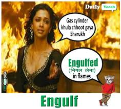 Image result for engulf word