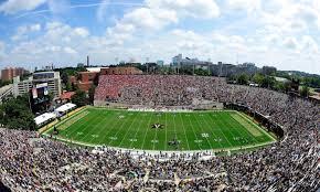 Photos Georgia Fans Have Invaded Vanderbilts Stadium