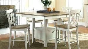 counter height kitchen table counter high dining table set white counter height kitchen table white counter