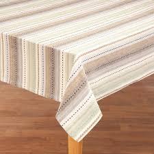 100 cotton navajo striped tablecloth 359114