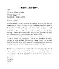 Cover Letter Samples For Students Cover Letter For Resume Examples