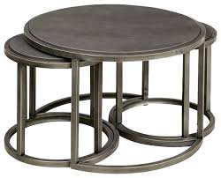 round nesting tables rotation round cocktail nesting table with metal base metal round coffee table glass round nesting