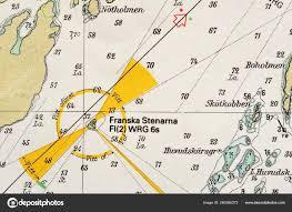 Marines Pay Chart 2013 Macro Shot Old Marine Chart Detailing Stockholm Archipelago