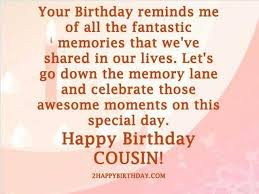 Happy Birthday Cousin Quotes Adorable Quotes Happy Birthday Cousin Quotes