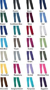 Scrubs Color Chart 101 Related Keywords Suggestions