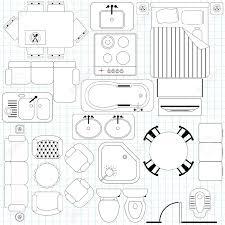 drawing furniture plans. Floor Plan Symbols Clipart #1 Drawing Furniture Plans