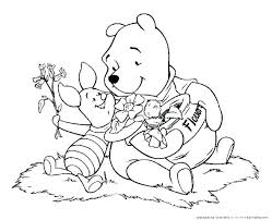 Winnie The Pooh Free Coloring Pages Koshigayainfo