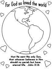 Small Picture free coloring pages of a world globe for children For God So